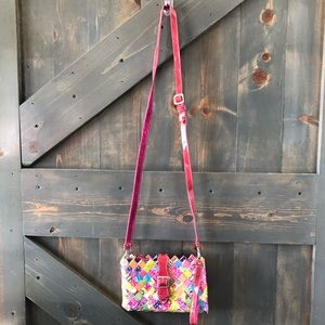 Arm Candy Bag Made of recycled Candy Wrappers